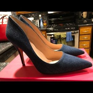 NIB...Kate Spade denim pumps